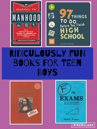 Fun Books That Make Great Gifts for Teen Boys