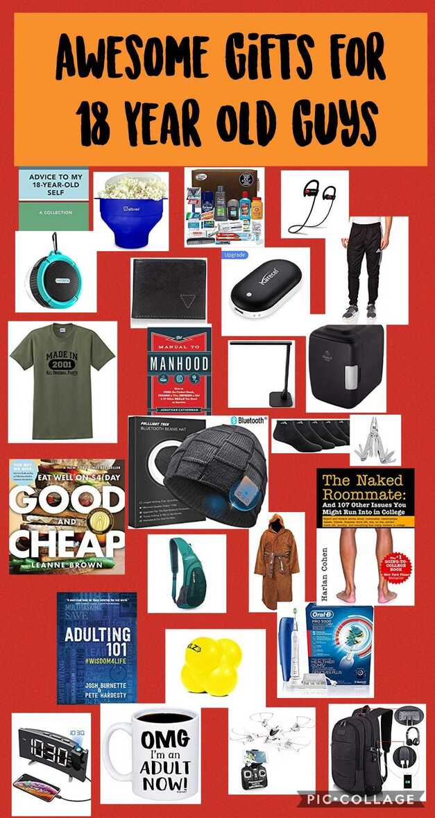 Awesome Gift Ideas for 18 Year Old Boys